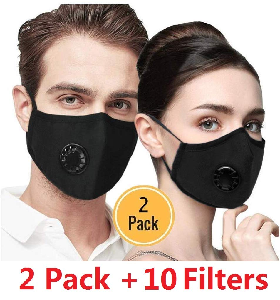 Seekay 10pcs PM2.5 Activated Carbon Filter Replaceable Anti Haze Filter Paper for Mask