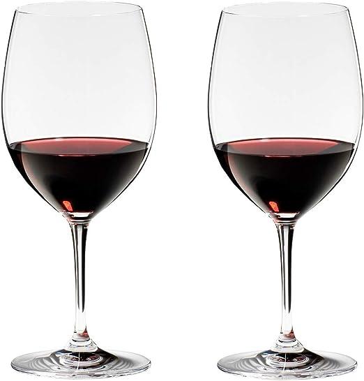 Riedel rojo-o vino blanco vasos vinum Zinfandel y Riesling Grand Cru 2