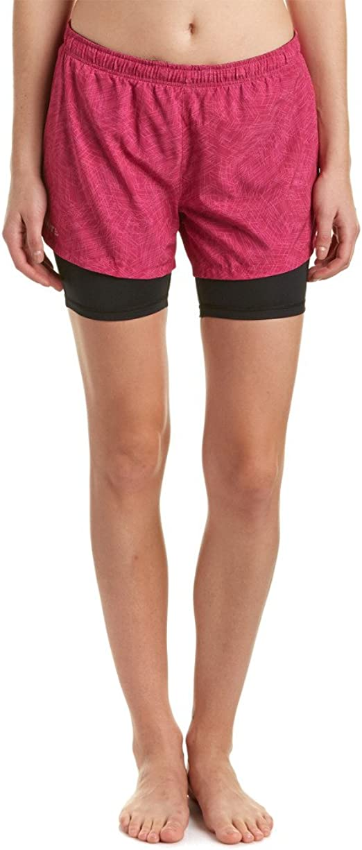 Craft Damen Laufhose Joy 2-in-1 Shorts W P Line