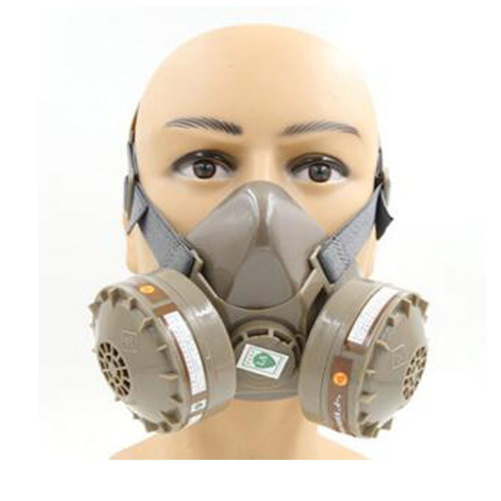 Anesty Anti-Dust Paint Respirator Mask, Dual Cartridge