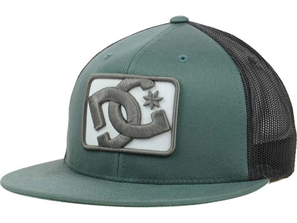 8cc6f22f Amazon.com: DC Shoes Passport Mesh Trucker Hat Cap Green Black Snapback:  Clothing