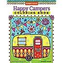 Happy Campers Coloring Book (Coloring Is Fun) (Design Originals)