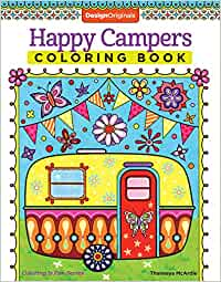 Happy Campers Coloring Book (Coloring is Fun) (Design
