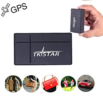 Mini GPS Tracker, TKSTAR Magnetic Mini GPS Tracker 60 días de Espera Localizador de GPS
