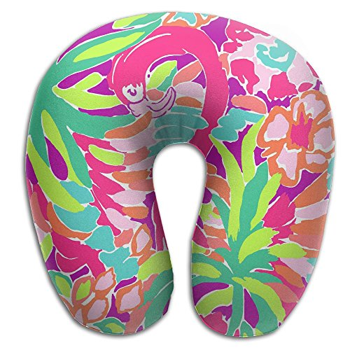 Lilly Pulitzer Comfortable U Type Pillow Neck Pillow Travel Pillows Super Soft Cervical Pillows With Resilient Material