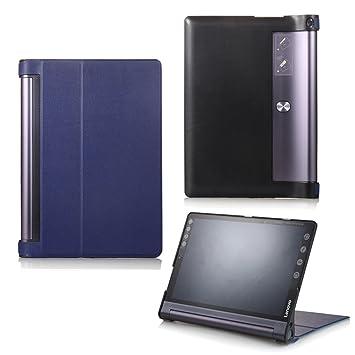 WindTeco Lenovo Yoga Tab3 Plus/Pro 10.1 Funda - Ultra Delgado y Ligero Carcasa Smart Case Cover con Función de Soporte para Lenovo Yoga Tab3 Plus/Yoga ...