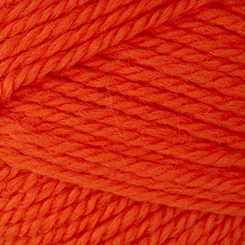 Patons Classic Wool Yarn (77738) Vibrant Orange