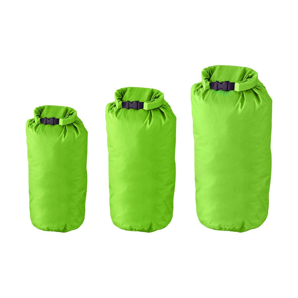 Milestone Camping Sacos secos (paquete de 3) - Verde Benross 20610