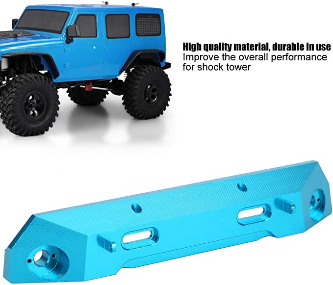 Tbest RC Accessories for Spare Parts for Front Bumper Protection for RGT 136100 1//10 RC Crawler Aluminum Alloy