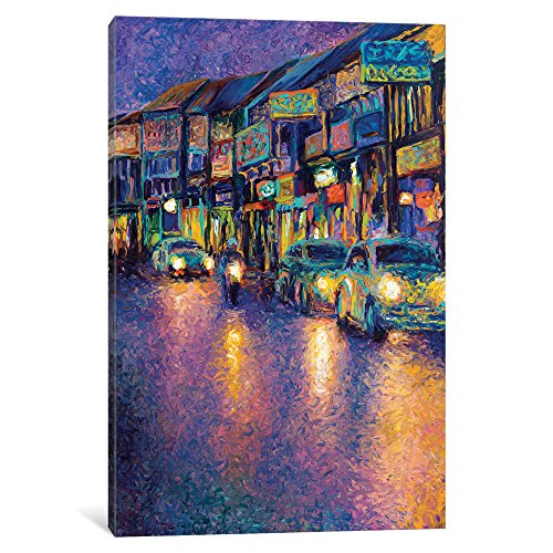 Icanvas My Thai Headlights Gallery Wrapped canvas Art Print by Iris Scott by iCanvasART