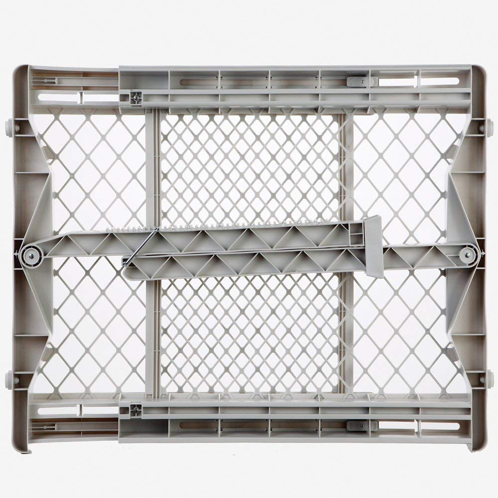 North States Top Notch Plastic Pressure Mounted Baby Pet Safety Gate (3 Pack) by North States (Image #2)