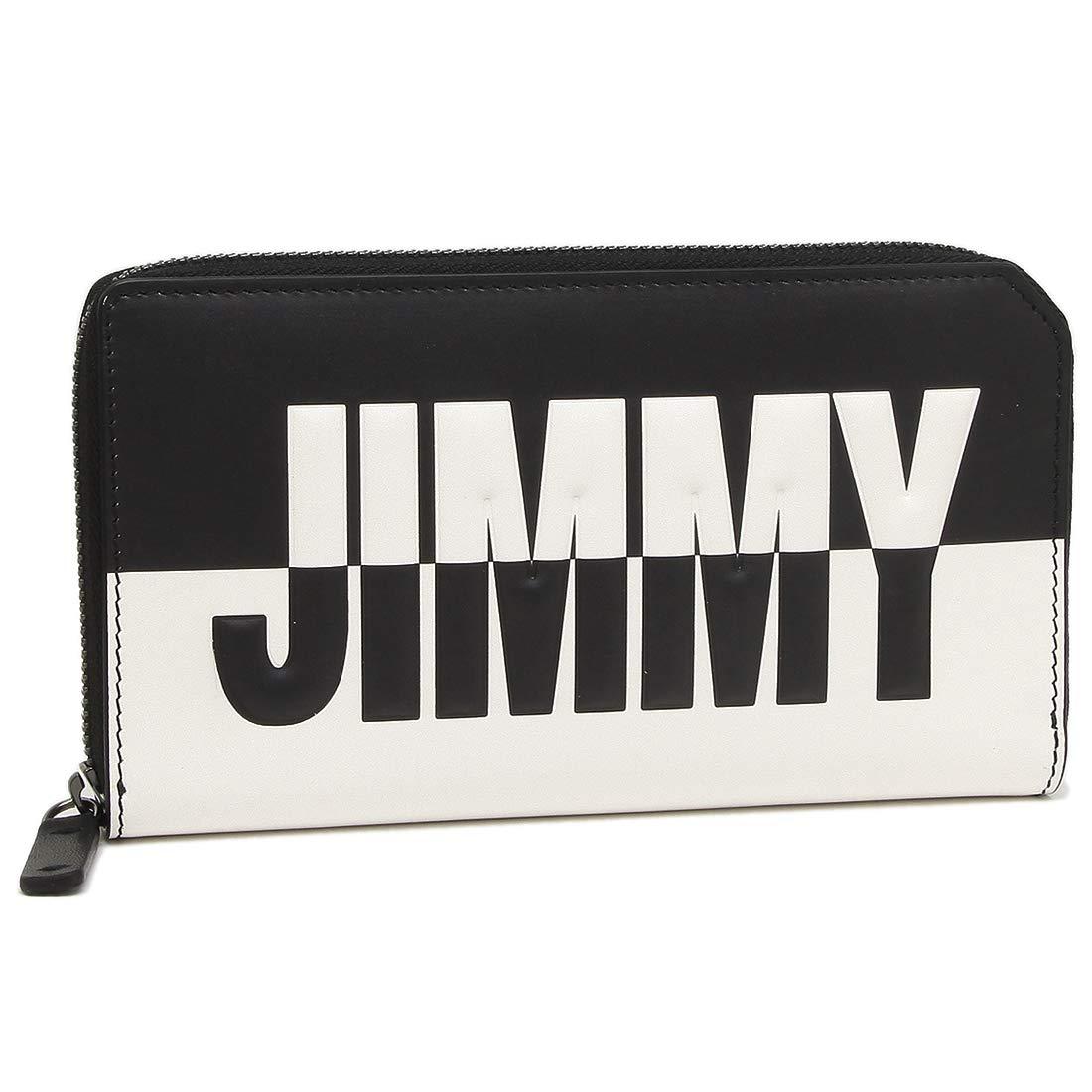 [ジミーチュウ]長財布 メンズ JIMMY CHOO CARNABY BBM ブラック ホワイト [並行輸入品] B07P8Y1VY6