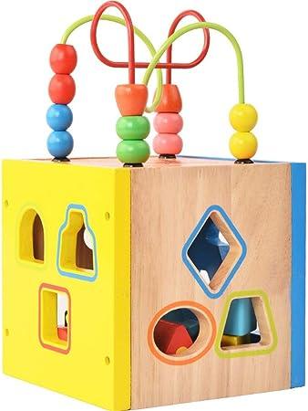 Sikungjlk Forme Sorter Toy Mes Blocs Premiere Construction En Bois