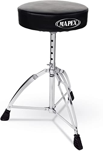 Mapex Double Brace Roundtop Drum Throne