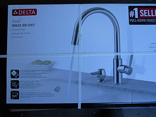 Delta Trask 19933-SD-DST Single handle Pull-down Ktichen Faucet Stainless Steel Finish
