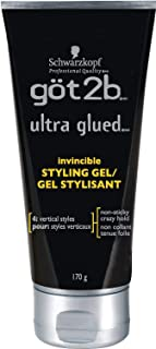 product image for Got2b Ultra Glued Invincible Styling Hair Gel, 6 Ounce
