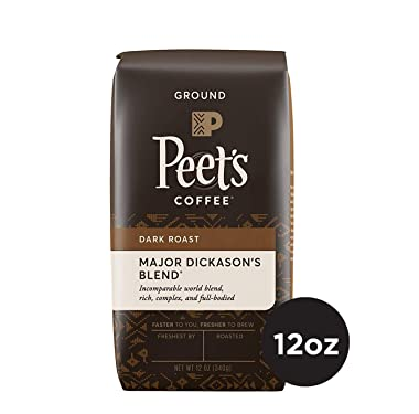 Peet's Ground Coffee, major dickason's