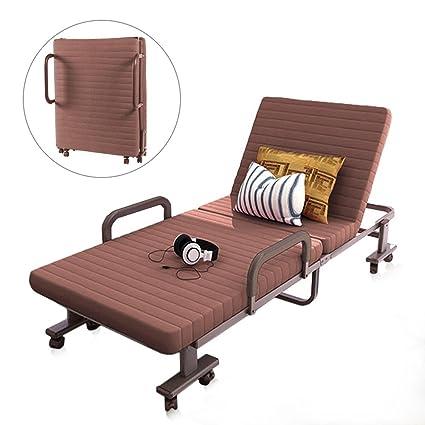 Amazon Com Pexfix Folding Bed Adjustable Rollaway Bed Premium