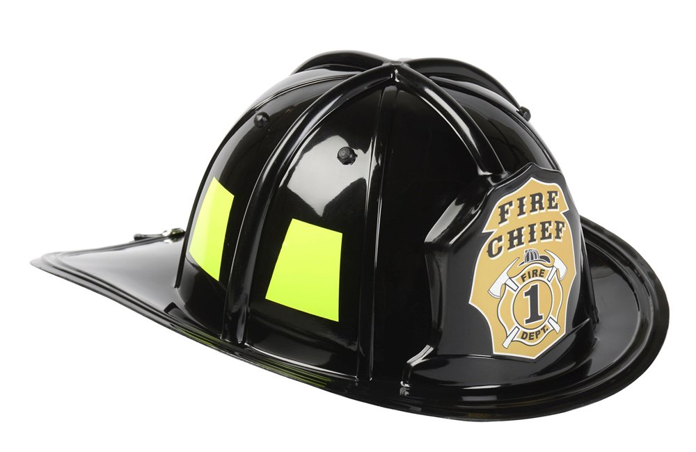 Aeromax Black Fire Chief Helmet by Aeromax (Image #1)