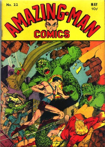 Amazing-Man Comics #22 (Illustrated) (Golden Age Preservation Project)