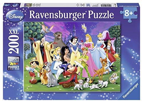 Ravensburger Disney Favourites Jigsaw Puzzle (200 (200 Pc Ravensburger Kids Puzzle)