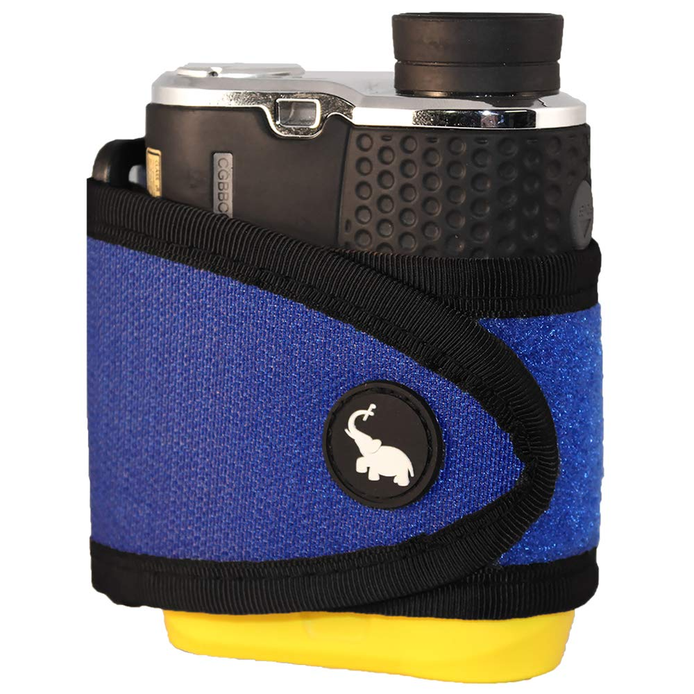 Monument Golf 1005BL Stick It Classic Series Magnetic Rangefinder Strap, Blue by Monument Golf