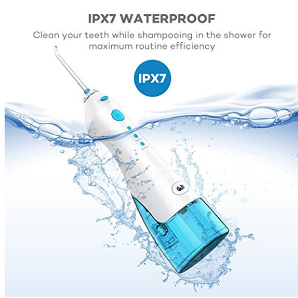 water pick water flosser dental care professional rechargeable 3-Mode 220ML water tank FC158 by 4G-Kitty (Image #3)