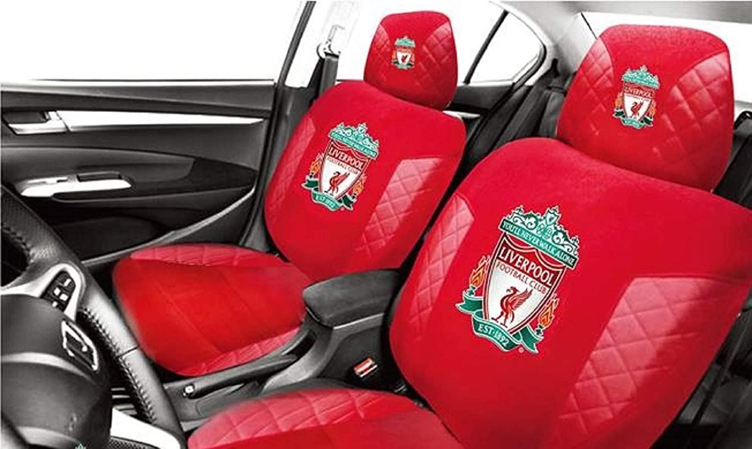 OFFICIAL LIVERPOOL FOOTBALL CLUB Car Interior Accessory Headrest Cover