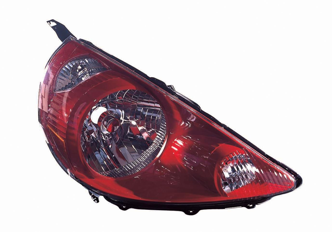 Depo 317-1151R-US4 Honda Fit Passenger Side Headlamp Lens and Housing