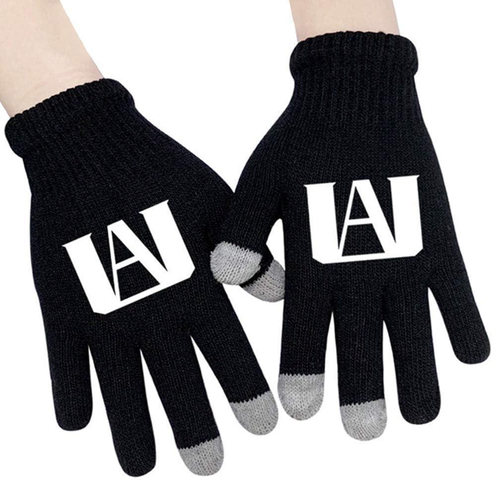 Cluis Anime My Hero Academi Guanti Cosplay guanti a cinque dita con stampa guanti da regalo per i fan di Anime