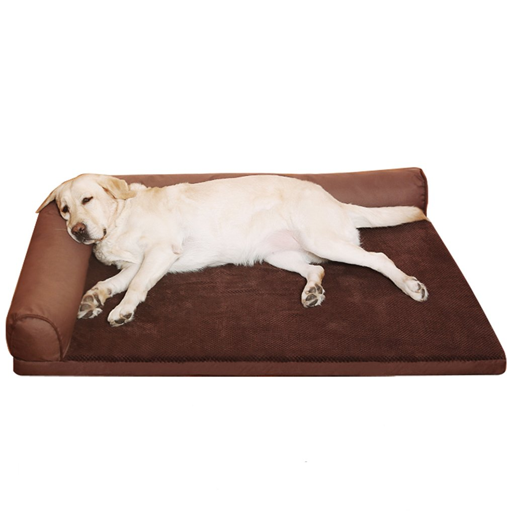 KTYX oroen Retriever Canile Four Seasons Dog Bed Teddy Teddy Teddy Lavabile Dog Mat Large, Medium E Small Dogs Pet Nest Dog Sofa Supplies Letto per Animali Domestici (Dimensioni   M) 986c95