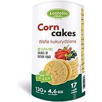 Lestello Corn Cakes, 130g - Pack of 1, 4H38B