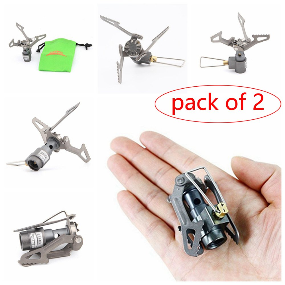 BRS-3000T LEJUNJIE Mini Camping Stove Portable Folding Cooking Stove Picnic Hiking Barbecue Gas Stove