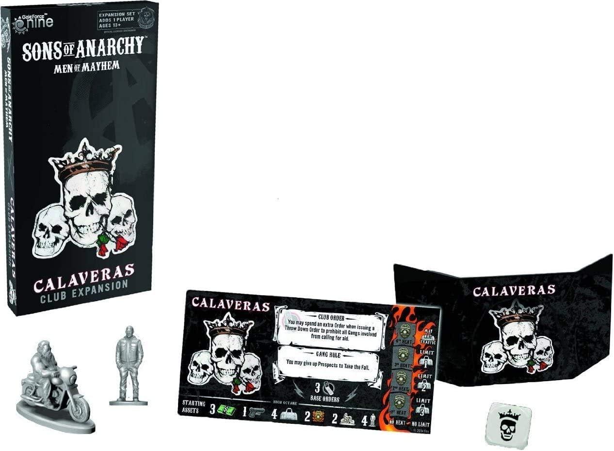 SONS OF ANARCHY : CALAVERAS EXPANSION *INGLES*: Amazon.es: Juguetes y juegos