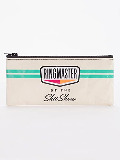 Amazon.com: Blue Q Bags Estuche para lápices, Ringmaster del ...