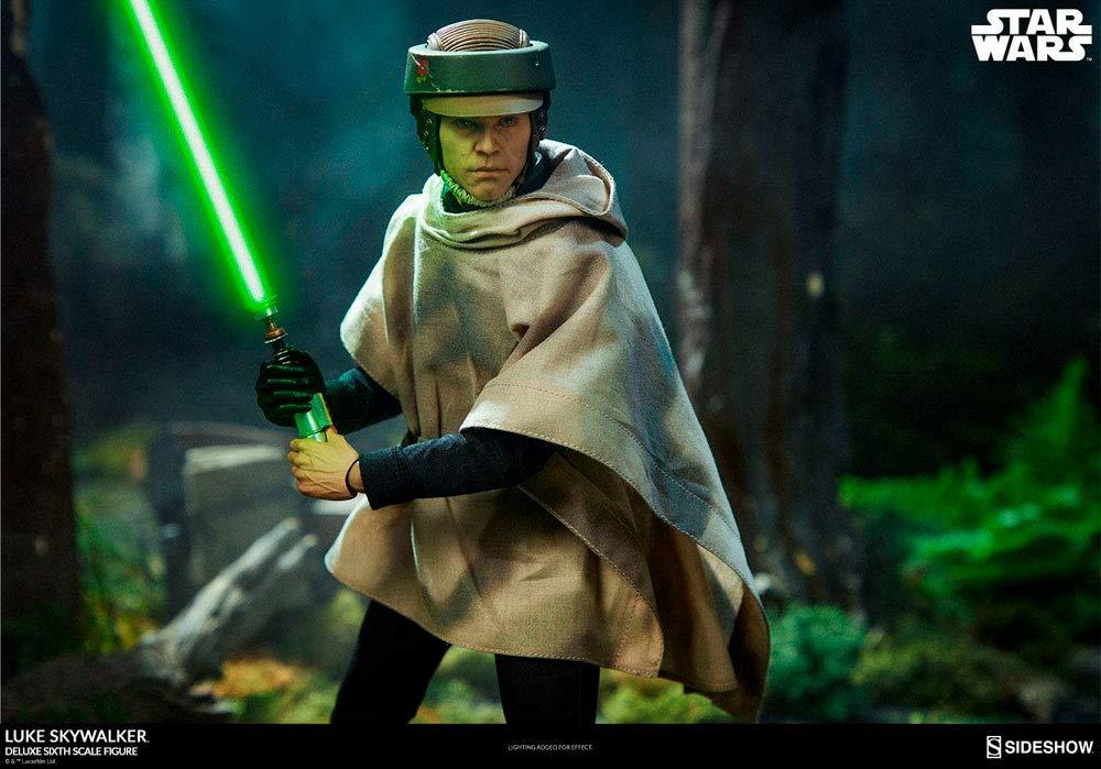 Star Wars Episode VI Deluxe Action Figure 1//6 Luke Skywalker 30 cm Sideshow