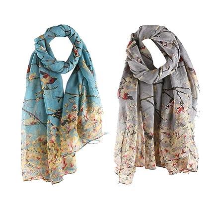 New Floral Print with Foil Fashion Scarf Women Super Soft  Wrap Shawl 90//180CM