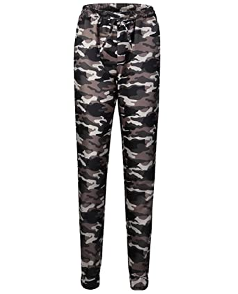 51e9f91a0df5d6 Womens Long Pants Printing Push-up Camo Sport Classic Casual Trousers Green  XS
