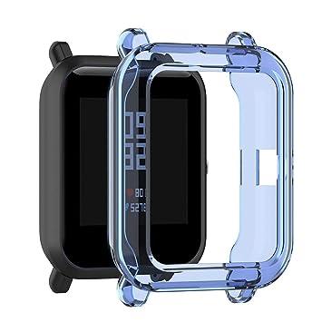 waspde Funda Protectora de Silicona TPU para Xiaomi Huami ...