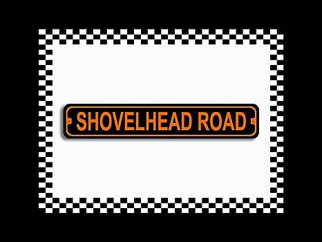 "Metal Street Sign Sturgis Highway Harley Biker Cave Bar Decor 3/""x18/"""