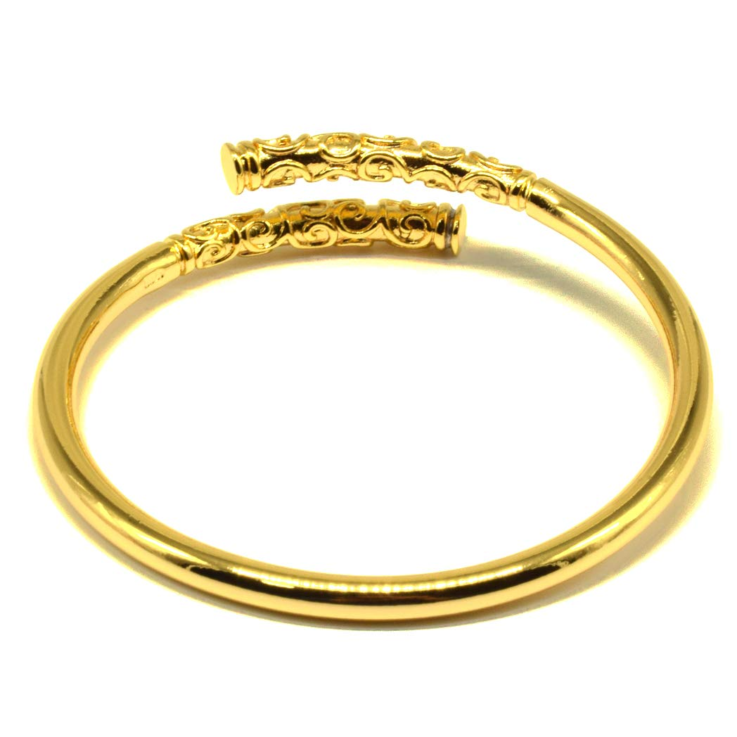 Rhythm Daily Mens Womens Stainless Steel Sun Wukong Monkey King Tighten Mantra Bangle Narrow Open Cuff Bracelet