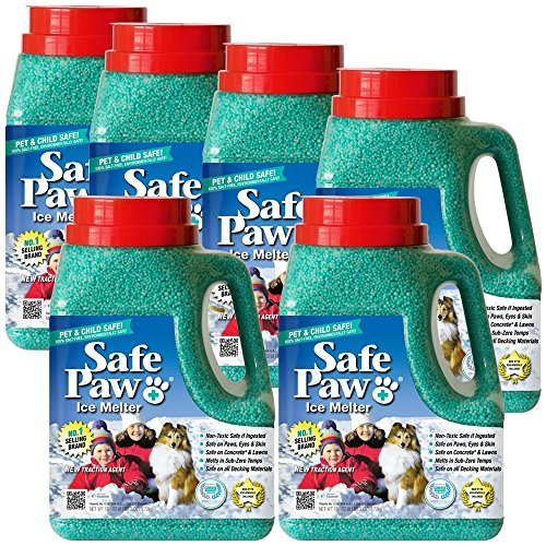 6PACK Safe Paw Ice Melter (48 lbs.) by Safe Paw