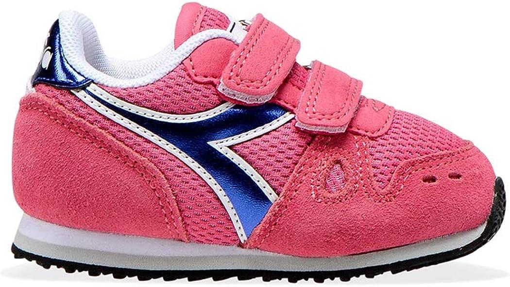 Diadora Simple Run PS Girl - Zapatillas deportivas para niña con correa deportiva 101.175775