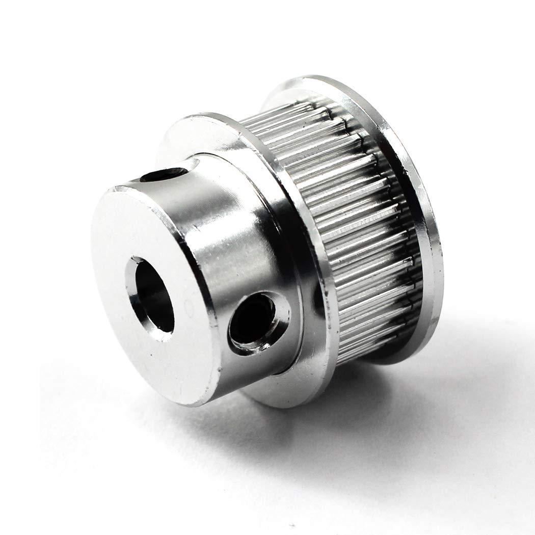 GT2 pulley 30 teeth zahnriemenscheibe 5mm bohrung umlenkrollen f/ür seile 6mm 3D Drucker Zahnriemen Rolle Packung mit 6 Schraubenschl/üssel enthalten