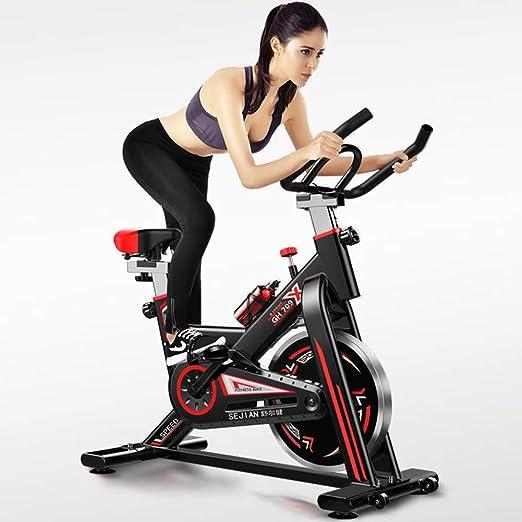 JSL 2019 Indoor Spinning Bike - Bicicleta estática ultrasilenciosa ...