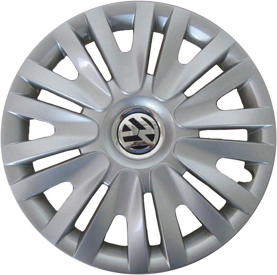 Volkswagen 5 K0071455 Tapacubos 15 Pulgadas en Brillant Plata ...
