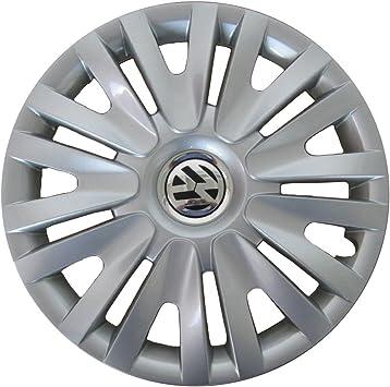 Volkswagen 5k0071455 Radzierblende 15 Zoll In Brillantsilber Anzahl 4 Auto