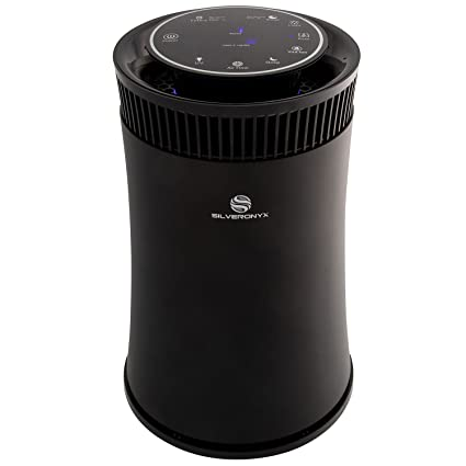 .com: silveronyx air purifier with true hepa carbon filter, uv ...