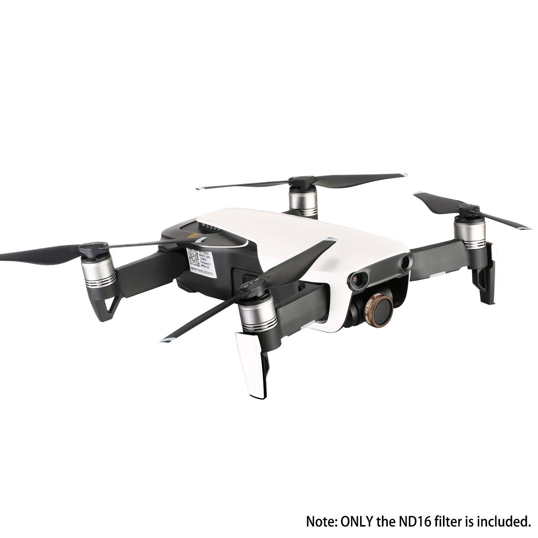 en Verre Optique Multi-enduit et Cadre en Alliage Aluminium Imperm/éable Neewer Lot de 6 Pro Kit de Filtre ND pour DJI Mavic Air Drone Quadcopter: ND4 Noir ND16//PL ND8//PL ND16 ND8 ND4//PL