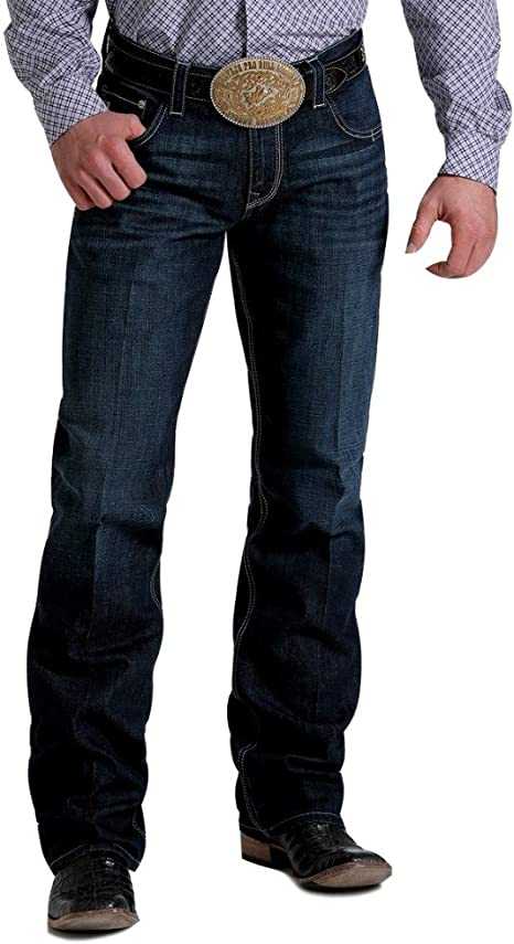 Cinch Mens Carter 2.4 Relaxed Performance Jeans Boot Cut Indigo 30W x 36L